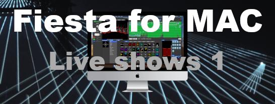 Live laser show