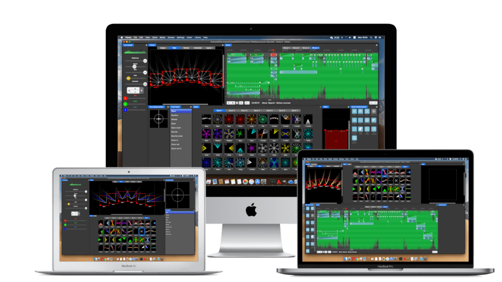 Mac OS laser show software