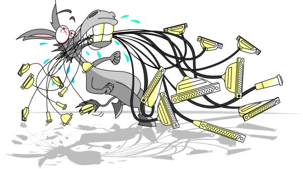 ILDA Cables No More
