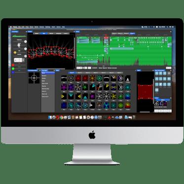 iMac laser show software