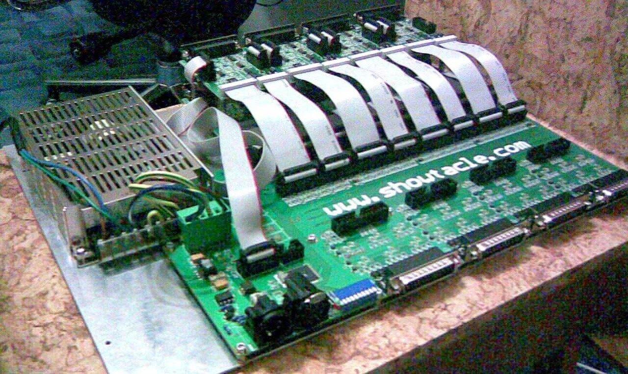 lasermatrix inside