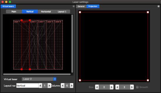 Layouts - laser graphics splitter