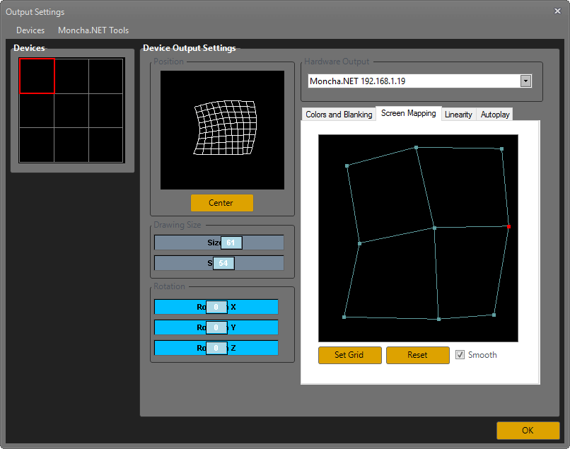 screenmapping